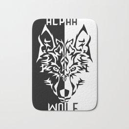 Alpha Wolf Bath Mat