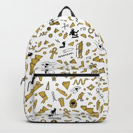 Egyptian Mini Hieroglyphics Backpack