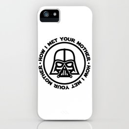 darth-mother iPhone Case