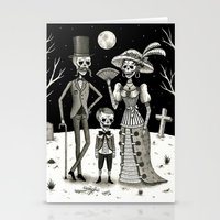 family Stationery Cards featuring Family Portrait of the Passed by Jon MacNair