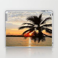 Maledives - Sunset Laptop & iPad Skin
