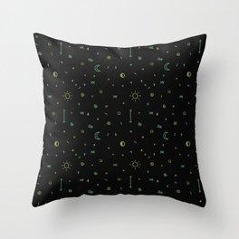 Symbology II Throw Pillow