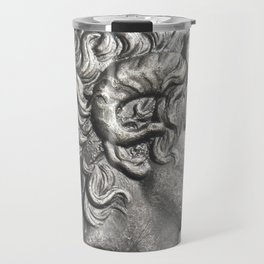 Ancient Roman silver coin Travel Mug