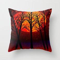 A SOLSTICE MOON - 118 Throw Pillow
