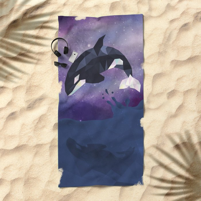 Orca Beach Towel