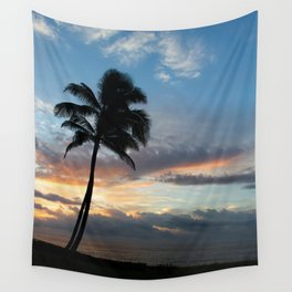In the Palm of Hawaii Wall Tapestry