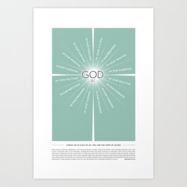 God be… Art Print