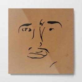 Face(s) Metal Print