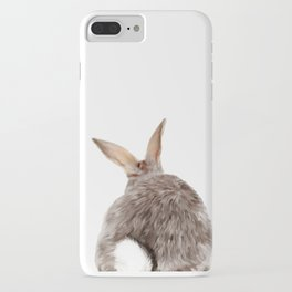 Bunny back side iPhone Case