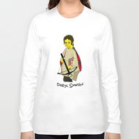 simpson Long Sleeve T-shirts featuring Daryl Simpson by sara banu