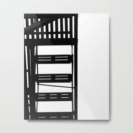 Fire Escape Metal Print