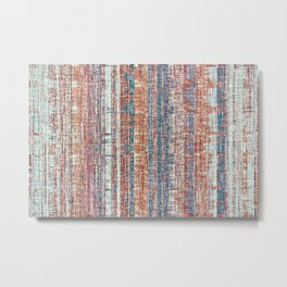 Abstract background textile Metal Print
