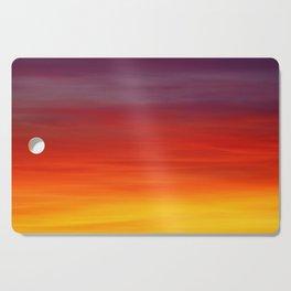 Panorama Sunset dawn Cutting Board