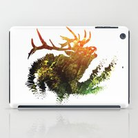 elk iPad Cases featuring Elk by Justin Kedl