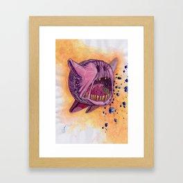 Void Kirby Nintendo Framed Art Print