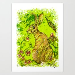 The Great Hare Art Print