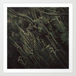 Constante Fluctuation Art Print