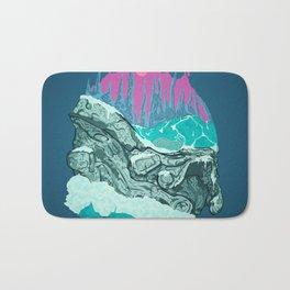 Andromeda's Glaciers Bath Mat
