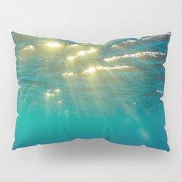 Golden Ripples Pillow Sham