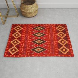 N165 - Oriental Traditional African Moroccan Style Artwork Rug