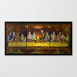 Pantheon Table Canvas Print