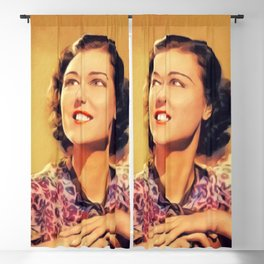 Charlotte Wynters, Vintage Actress Blackout Curtain