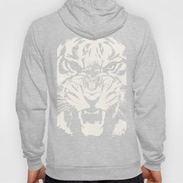 White Tiger Vector Hoody