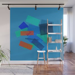 Retracting in Motion Wall Mural