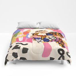 World Full Of Colors Comforters