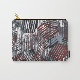 Cherry Gray Carry-All Pouch