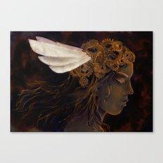 Clockwork Crown Canvas Print