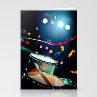 drums Stationery Cards featuring drums by petervirth photography