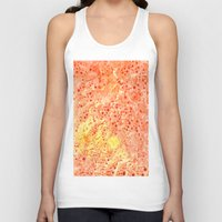 florida Tank Tops featuring Florida Orange by Rosie Brown