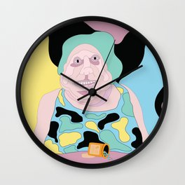 Myrtle's Medication Kicked In Wall Clock