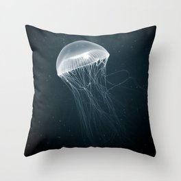 Jellyfish Glow Throw Pillow