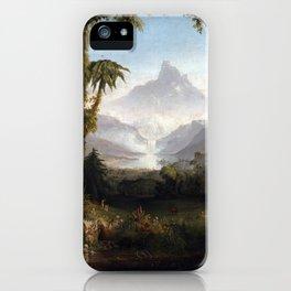 Thomas Cole The Garden of Eden iPhone Case