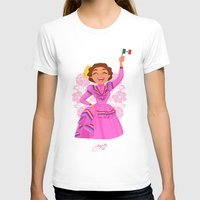 mexico T-shirts featuring Mexico  by Melissa Ballesteros Parada