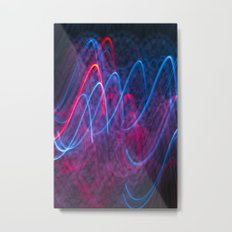 Light Wave Metal Print