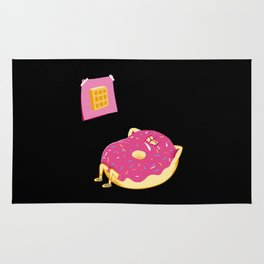 DONUT GIVE UP Rug