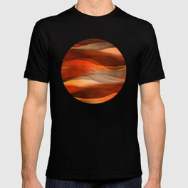 """""""Sea of sand and caramel waves"""" T-shirt"""