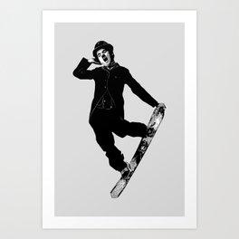 Gnarly Chaplin Art Print