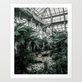 Kew Gardens, London Art Print
