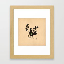 Delaware - State Papercut Print Framed Art Print