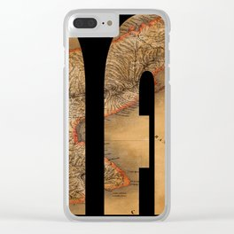 Panama 1864 Clear iPhone Case