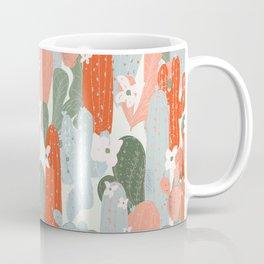 Floral Cactus Coffee Mug