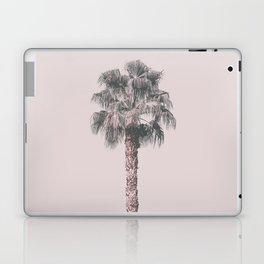 Tropical Palm Tree In Pastel Pink Light Laptop & iPad Skin