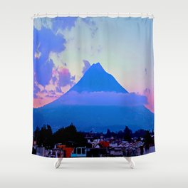 Volcano - Antigua, Guatemala Shower Curtain