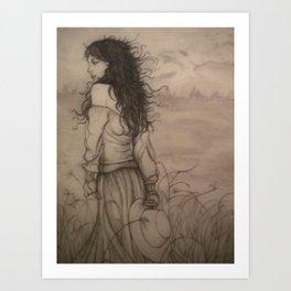 The Wind That Blew My Heart Away Art Print