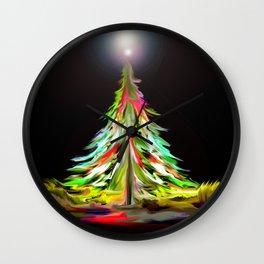 Diversity Tree All A Glow Wall Clock