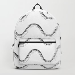 Slither Black #480 Backpack